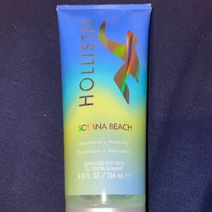 Hollister brand exfoliating body wash— Never used